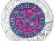 25 Euro Silber-Niob Bimetallmünze – Die Zeit