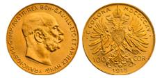 100Kronenoriginalgroesse Kronen Münzen
