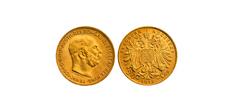 20Kronenoriginalgroesse Kronen Münzen