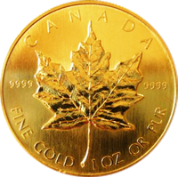 be15d20583b48c5825b7e782b585f423 Gold Maple Leaf