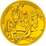 100 Euro Goldmünze Bildhauerei Bildseite e1327828443959 Goldeuro Österreich