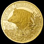 100 Euro Goldmünze Das Wildschwein Wertseite e1412840910777 Goldeuro Österreich