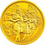 100 Euro Goldmünze Der österreichische Erzherzogshut Bildseite e1327830948250 Goldeuro Österreich