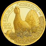 100 Euro Goldmünze Der Auerhahn Wertseite e1445271224475 Goldeuro Österreich