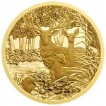 100 Euro Goldmünze Der Rothirsch Bildseite e1382509992863 Goldeuro Österreich
