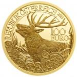 100 Euro Goldmünze Der Rothirsch Wertseite e1382509613602 Goldeuro Österreich