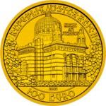 100 Euro Goldmünze Kirche am Steinhof Wertseite e1327830118675 Goldeuro Österreich