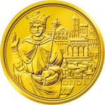 100 Euro Goldmünze Krone des hl. röm. Reiches Bildseite e1327831008954 Goldeuro Österreich