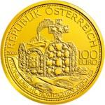 100 Euro Goldmünze Krone des hl. röm. Reiches Wertseite e1327831020778 Goldeuro Österreich