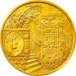 100 Euro Goldmünze Linke Wienzeile Nr. 38 Bildseite e1327830471640 Goldeuro Österreich