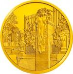 100 Euro Goldmünze Wienflussportal Bildseite e1327830209462 Goldeuro Österreich