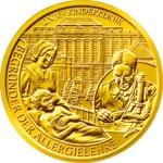 50 Euro Goldmünze Clemens von Pirquet Bildseite e1327831362912 Goldeuro Österreich