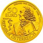 50 Euro Goldmünze Gerard van Swieten Wertseite e1327831728690 Goldeuro Österreich