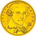 50 Euro Goldmünze Joseph Haydn Bildseite e1327829159107 Goldeuro Österreich