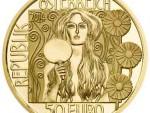 50 Euro Goldmünze JudithII Wertseite