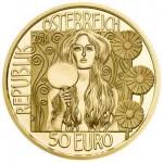 50 Euro Goldmünze JudithII Wertseite e1391592415103 Goldeuro Österreich