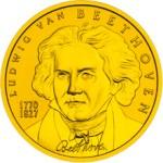 50 Euro Goldmünze Ludwig van Beethoven Bildseite e1327828999325 Goldeuro Österreich