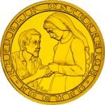 50 Euro Goldmünze Nächstenliebe Wertseite e1327827495155 Goldeuro Österreich