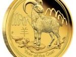 2015 Jahr der Ziege Australischer Lunar Bildseite
