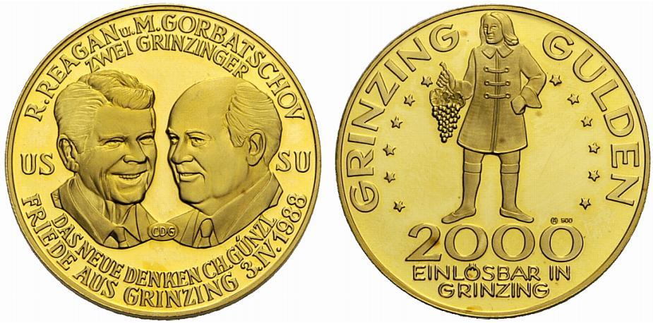 Grinzing Gulden Goldener Grinzing Gulden