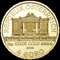 Wiener Philharmoniker Goldmünze Wertseite 1 25 Unze e1390378410327 Wiener Philharmoniker