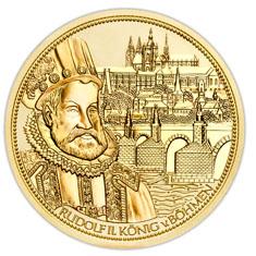 Die Wenzelskrone B%C3%B6hmens Bildseite 100 Euro Goldmünze   Die Wenzelskrone Böhmens