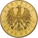 100 Schilling Avers 1. Republik e1327434242477 Schilling Goldmünzen
