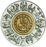 1000 Schilling Bimetallmünze 800 Jahre Münze Wien Bildseite e1330501399678 Österreichische Bimetallmünzen