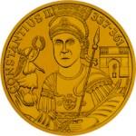 1000 Schilling Goldmünze Heidentor Carnuntum Bildseite e1327435633989 Schilling Goldmünzen