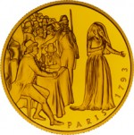 1000 Schilling Goldmünze Marie Antoinette Bildseite e1327434734180 Schilling Goldmünzen