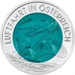 25 Euro Niob Österreichische Luftfahrt Bildseite e1330501772911 Österreichische Bimetallmünzen
