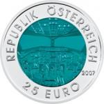 25 Euro Niob Österreichische Luftfahrt Wertseite e1330501752381 Österreichische Bimetallmünzen