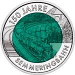 25 Euro Niob 150 Jahre Semmeringbahn Bildseite e1330501985427 Österreichische Bimetallmünzen