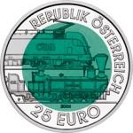 25 Euro Niob 150 Jahre Semmeringbahn Wertseite e1330501996215 Österreichische Bimetallmünzen