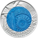 25 Euro Niob Erneuerbare Energie Bildseite e1330502034214 Österreichische Bimetallmünzen