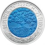 25 Euro Niob Erneuerbare Energie Wertseite e1330502046998 Österreichische Bimetallmünzen