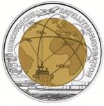 25 Euro Niob Europäische Satellitennavigation Bildseite e1330501891609 Österreichische Bimetallmünzen