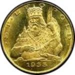 25 Schilling Goldmünze Leopol III. Revers e1327434190679 Schilling Goldmünzen
