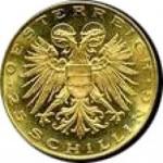 25 Schilling Goldmünze Leopold III. Avers e1327434204392 Schilling Goldmünzen