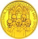 500 Schilling Goldmünze 500 Jahre Wiener Sängerknaben Bildseite e1327434701320 Schilling Goldmünzen