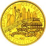 500 Schilling Goldmünze 500 Jahre Wiener Sängerknaben Wertseite e1327434687410 Schilling Goldmünzen
