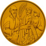 500 Schilling Goldmünze Die Bibel Bildseite e1327435656387 Schilling Goldmünzen