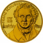 500 Schilling Goldmünze Franz Schubert Bildseite e1327435124238 Schilling Goldmünzen