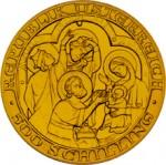 500 Schilling Goldmünze Geburt Christi Wertseite e1327435801743 Schilling Goldmünzen