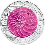 25 Euro Niob Bionic Wertseite e1331710399502 Österreichische Bimetallmünzen