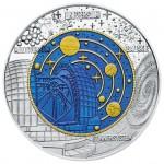 25 Euro Niob Kosmologie Bildseite e1442509751512 Österreichische Bimetallmünzen