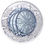 25 Euro Niob Tunnelbau Wertseite e1434458648253 Österreichische Bimetallmünzen