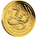 3097 2013 Year of the Snake Gold Proof Coin Reverse e1355908873580 Australischer Lunar