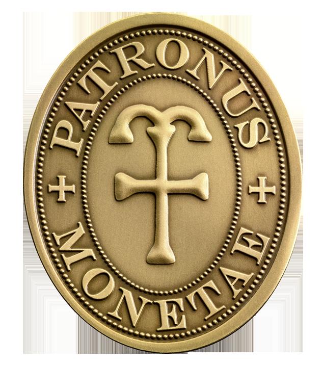 Der Heilige Eligius Rückseite Der Heilige Eligius   Schutzpatron der Numismatiker