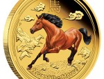 Australischer Lunar II Jahr des Pferdes 2014